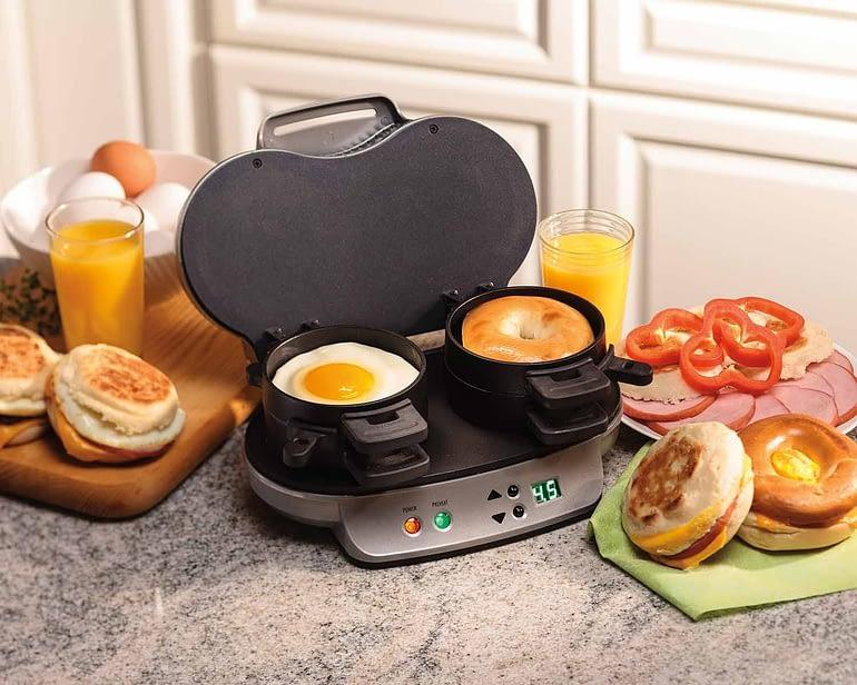 How To Use Breakfast Sandwich Maker