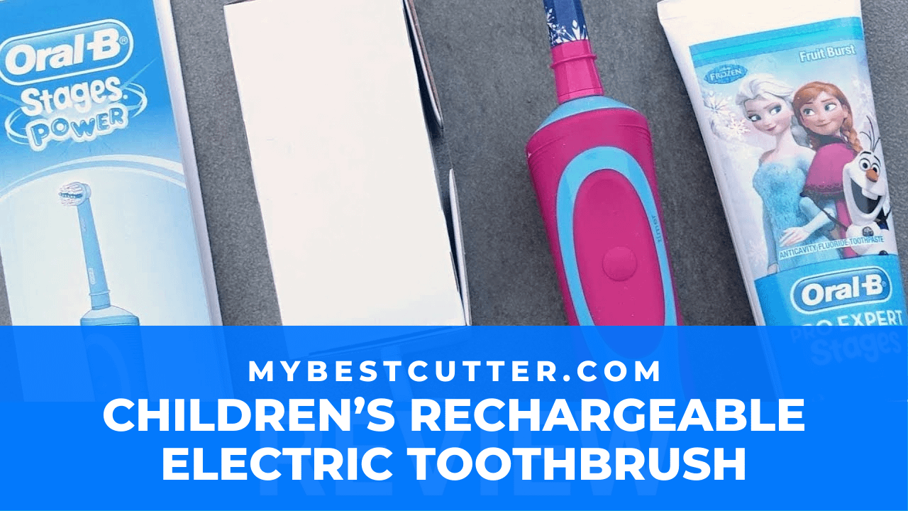 braun children rechargeable electric toothbrush