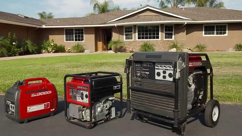 will a portable generator run a furnace